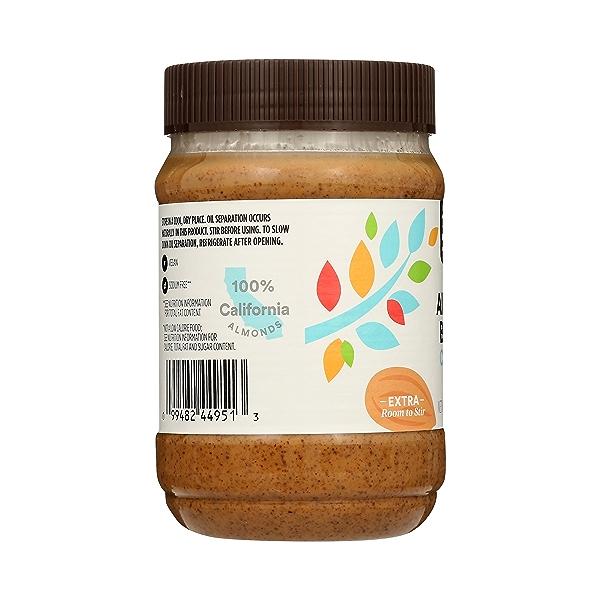 Almond Butter, Crunchy, 16 oz 2