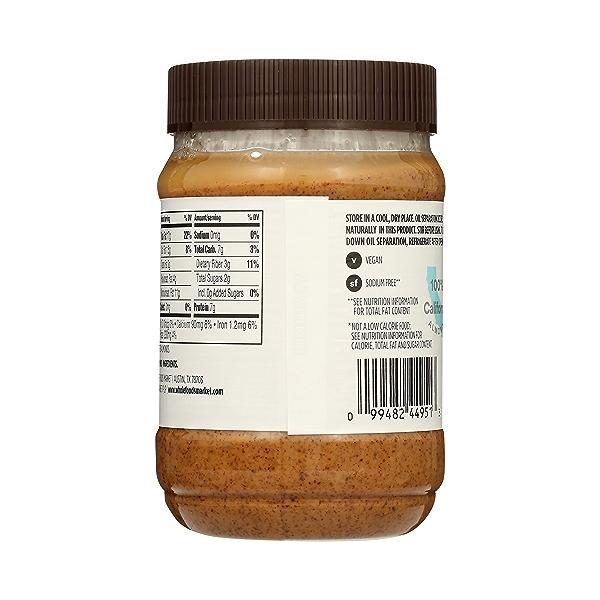 Almond Butter, Crunchy, 16 oz 4