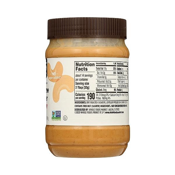 Cashew Butter, Creamy, 16 oz 5
