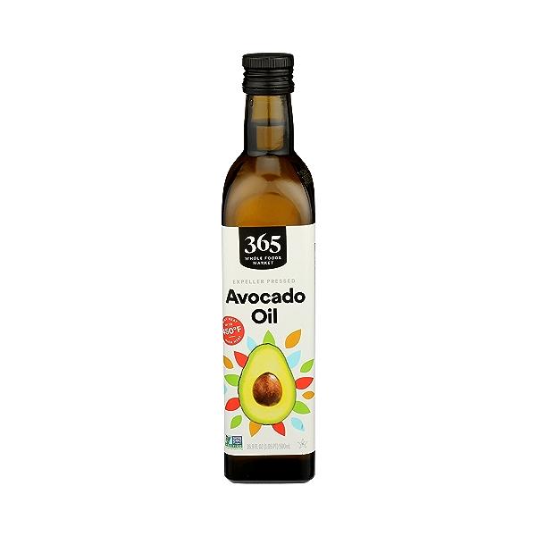 Expeller Pressed Cooking Oil, Avocado, 16.9 fl oz 1