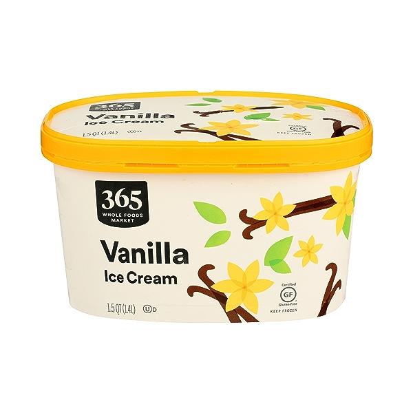 Frozen Ice Cream, Vanilla, 1.5 qt 1