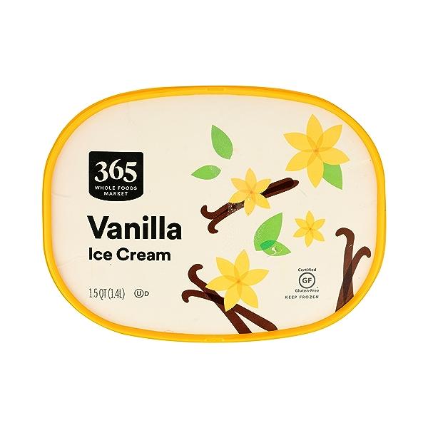 Frozen Ice Cream, Vanilla, 1.5 qt 3