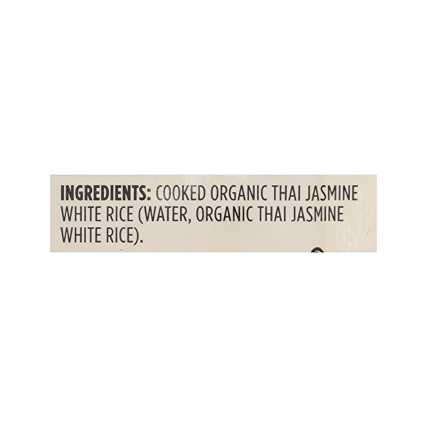 Frozen Organic Rice, White - Thai Jasmine 8