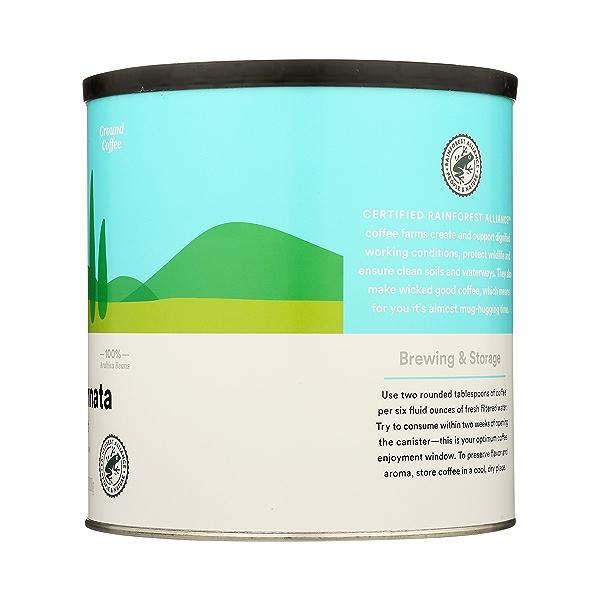 Ground Coffee in Canister, Buona Giornata - Italian Roast, 28.5 oz 5