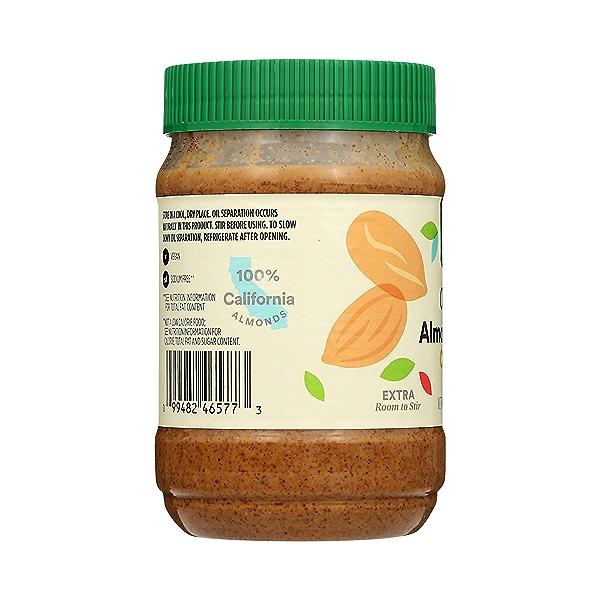 Organic Almond Butter, Creamy, 16 oz 2
