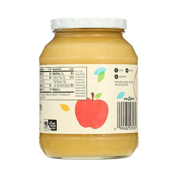 Organic Applesauce, Unsweetened, 24 oz 4