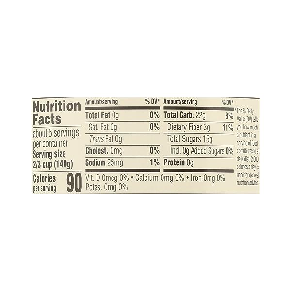 Organic Applesauce, Unsweetened, 24 oz 7