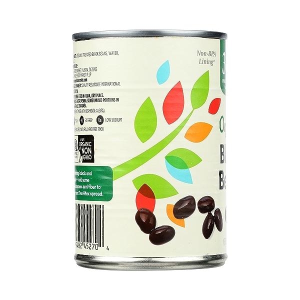 Organic Canned Beans, Black Beans, 15 oz 2