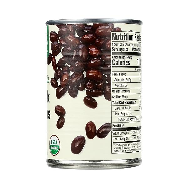 Organic Canned Beans, Black Beans, 15 oz 5