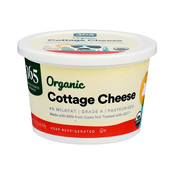 Organic Cottage Cheese, 16 oz 1
