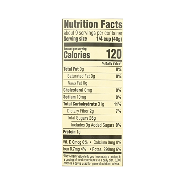 Organic Dried Fruit, California Raisins - Sun Dried, 12 oz 7