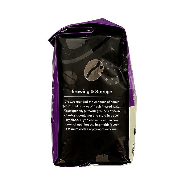 Organic Ground Coffee in Bag, Full City Roast - Buzz Free Decaf, 24 oz 2
