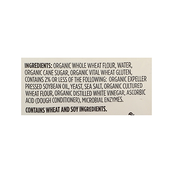 Organic Hot Dog Buns, Whole Wheat (8 Buns), 15 oz 8