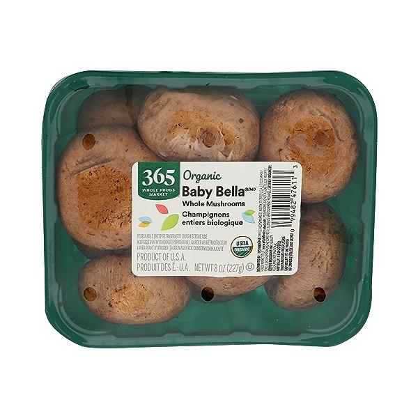 Whole Baby Bella Mushrooms 1