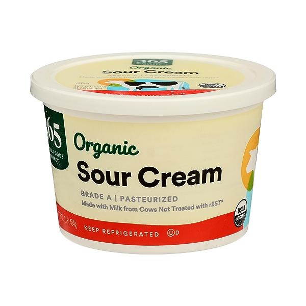 Organic Sour Cream, 16 oz 1