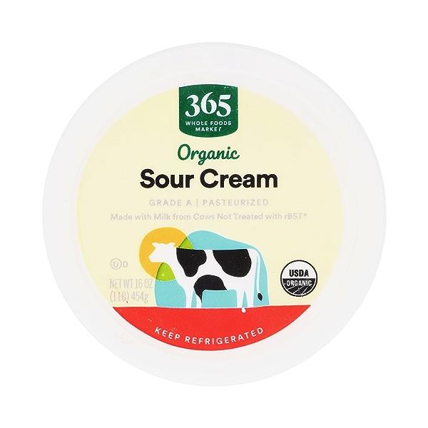 Organic Sour Cream, 16 oz 3