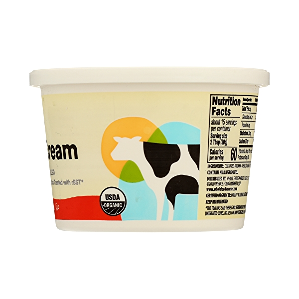 Organic Sour Cream, 16 oz 5