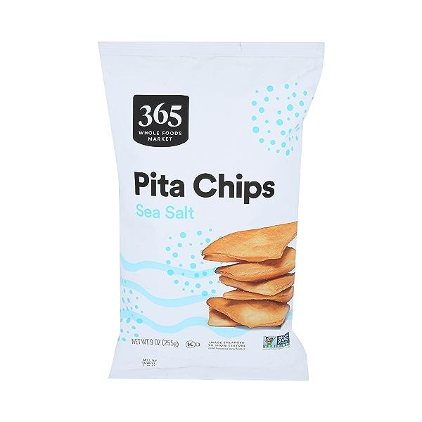 Pita Chips, Sea Salt, 9 oz 1