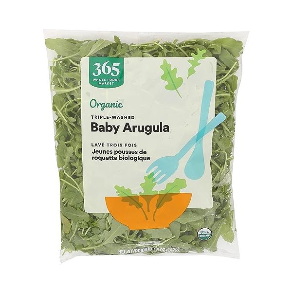 Produce - Organic Packaged Baby Arugula 1