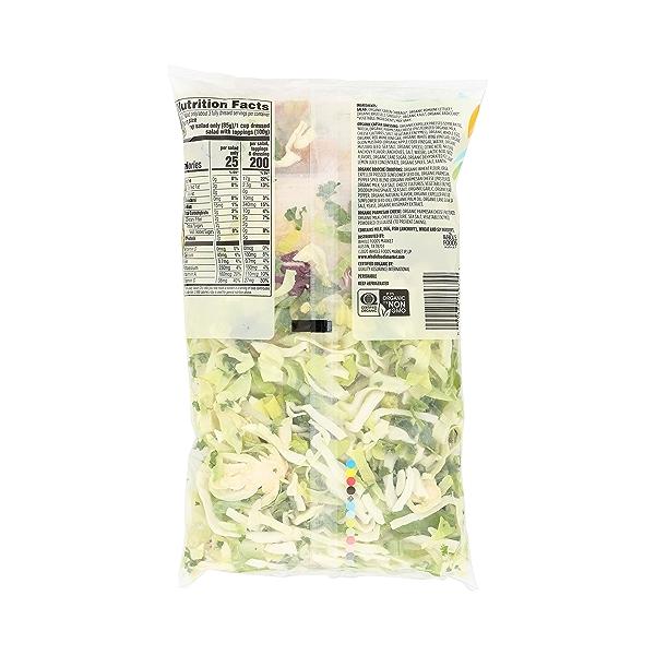Produce - Organic Packaged Chopped Salad Kit, Kale Caesar 4