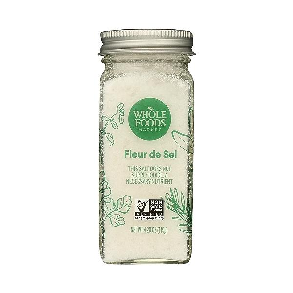 Seasoning, Salt, Fleur de Sel, 4.2 oz 1