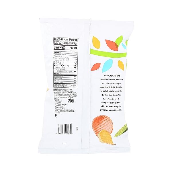 Veggie Chips (Seasoned Blend of Potato, Tomato & Spinach), 6 oz 4