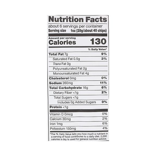 Veggie Chips (Seasoned Blend of Potato, Tomato & Spinach), 6 oz 7