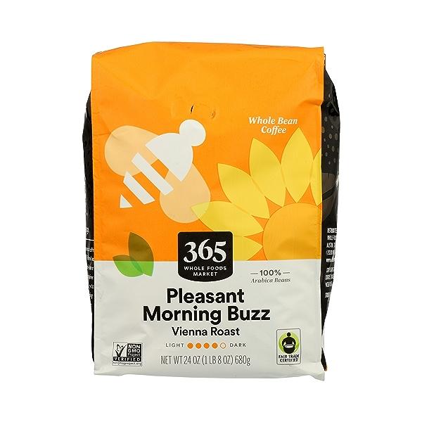 Whole Bean Coffee, Vienna Roast - Pleasant Morning Blend, 24 oz 1