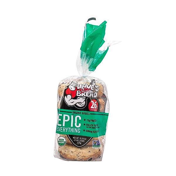 Organic Epic Everything Bagel, 16.75 oz 1