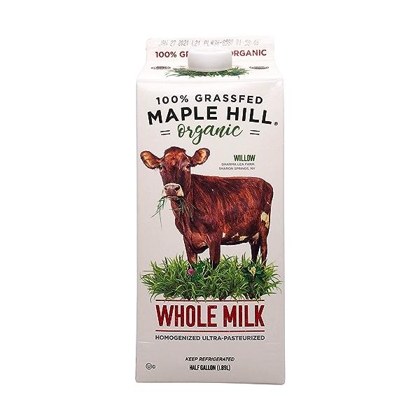 Organic Whole Milk 1