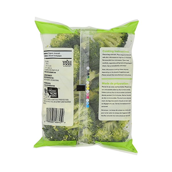 Organic Broccoli Florets 2