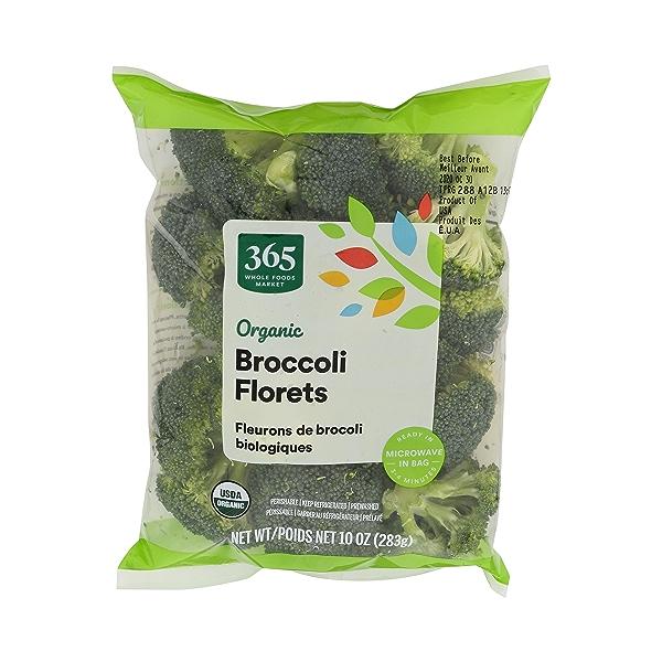 Organic Broccoli Florets 1