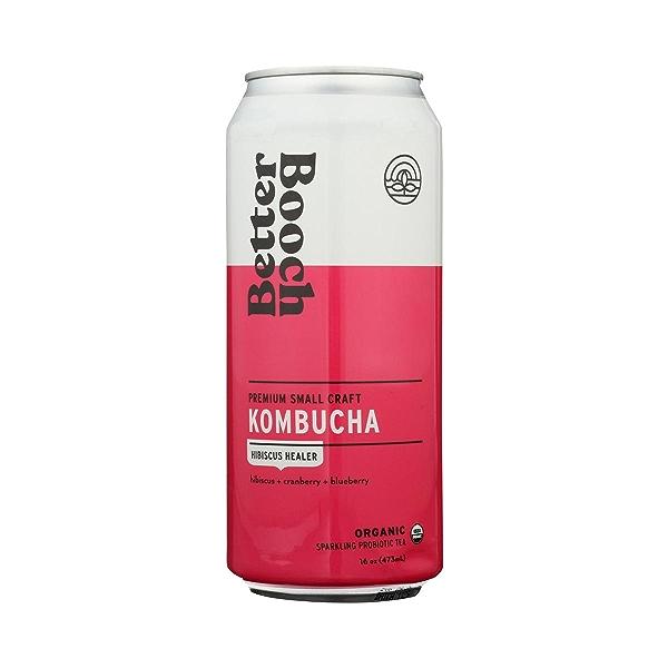 Premium Kombucha Tea, 16 oz 2