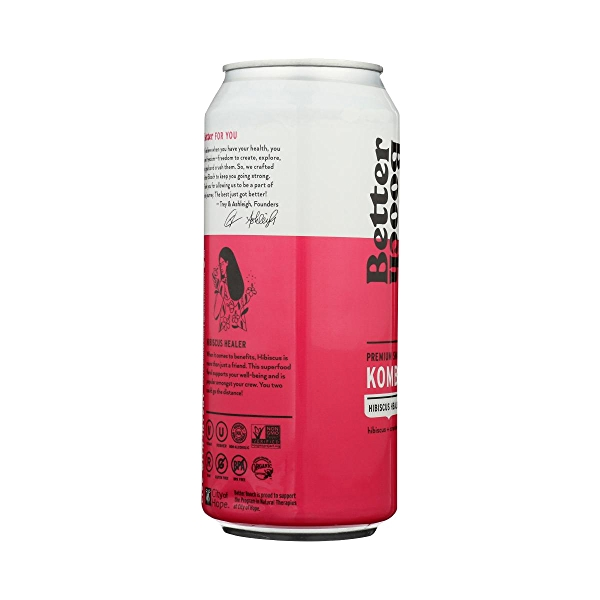 Premium Kombucha Tea, 16 oz 3