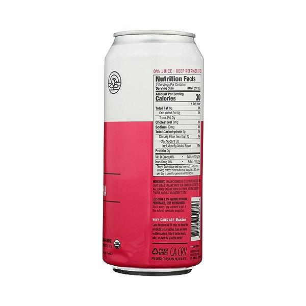 Premium Kombucha Tea, 16 oz 6
