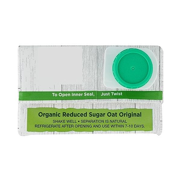 Organic Reduced Sugar Oat Original 32 Oz 4