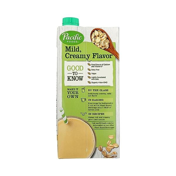 Organic Reduced Sugar Oat Original 32 Oz 5