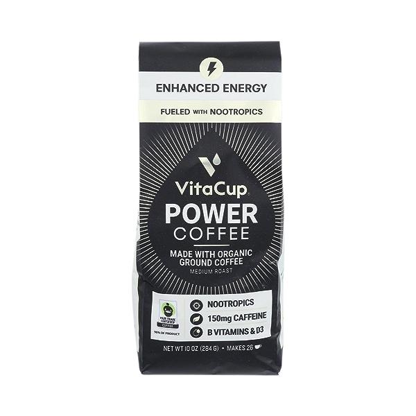 Power Coffee 10Oz Ground Coffee 1