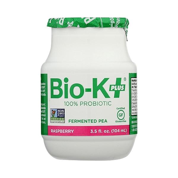 Fermented Pea Probiotic - Raspberry Single Bottle, 3.5 fl oz 2