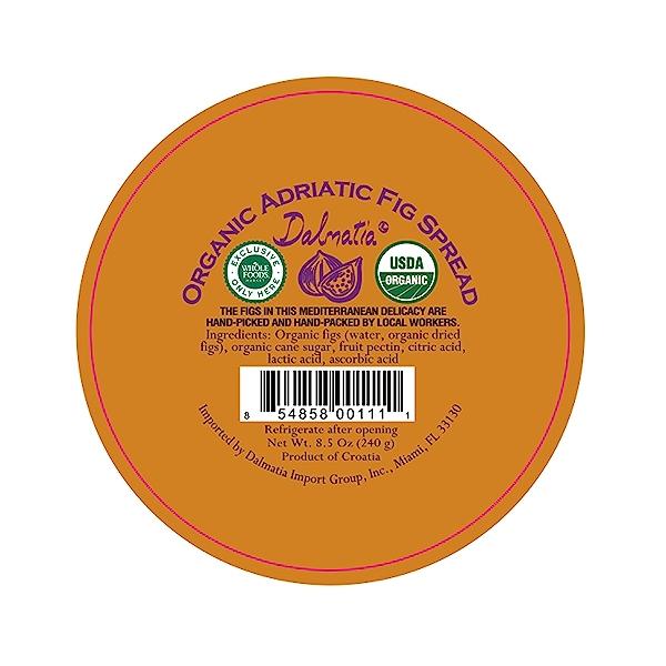 Organic Adraitic Fig Spread, 8.5 oz 2