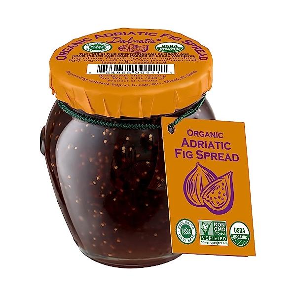 Organic Adraitic Fig Spread, 8.5 oz 1