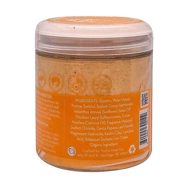 Coconut Papaya Whipped Soap Scrub, 8 oz 4