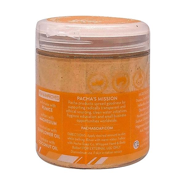 Coconut Papaya Whipped Soap Scrub, 8 oz 3