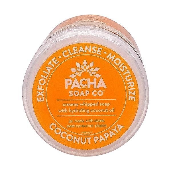 Coconut Papaya Whipped Soap Scrub, 8 oz 6