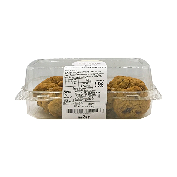 Oatmeal Raisin Mini Cookie 18 Count 2