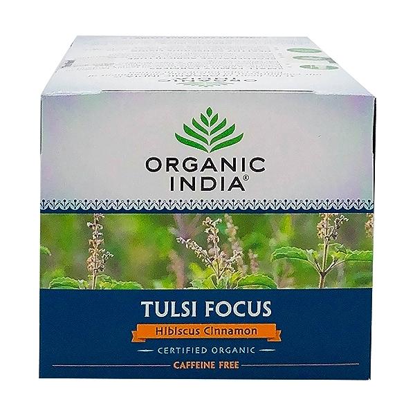Organic Hibiscus Cinnamon Tulsi Focus Tea, 1.27 oz 5