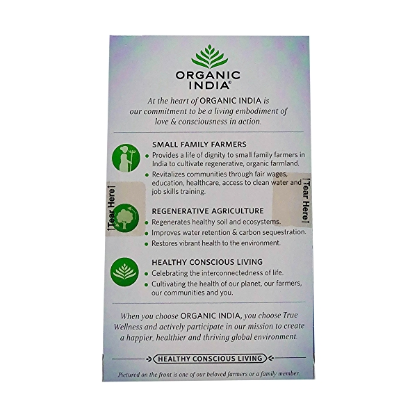 Organic Hibiscus Cinnamon Tulsi Focus Tea, 1.27 oz 3