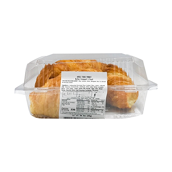 Butter Croissants 4 count, 9 oz 6
