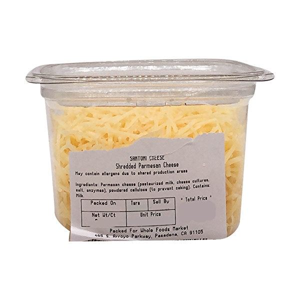 Shredded Parmesan Cheese, 0.35 lb 2
