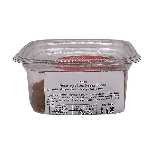 Piedras Rojas Cocoa Cinnamon Cashews, 0.25 lb 3